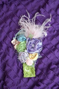 april showers bring may flowers matilda jane house of clouds serendipity easter headband. $28.95, via Etsy.