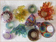 #etsy #etsycom || #vitrage #stainedglass #glassware || #homedecor #decor || #gift #giftidea || #drinkware #wine #wineglass #cup #goblet #jar #dessertvase #pedestalbowl #bowl #bottle #plate #soucer #dish