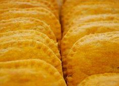 Jamaican patties  I will substitute the beef for vegetarian beef to make it meatless.