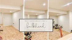 Wondering whether your bulkhead paint should match the ceiling or the wall colour? Today, I'm diving deep into three different bulkhead paint options, which one I went with in our own basement renovation and why. Cozy Basement, Basement Inspiration, Heart Diy, Flea Market Style, Basement Renovations, Diy Home Improvement, Wall Colors, Cottage Style, Farmhouse Decor