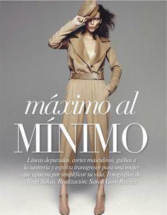 """""""Maximo Al Minimo"""" : Kasia Struss : Vogue Mexico September 2012 : Nagi Sakai"""