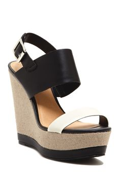 my favs for the summer. Nessa Wedge Sandal
