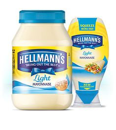 Looking For A Lighter Mayonnaise? Hellmannu0027s Light Mayo Has Half The  Calories U0026 Half The Fat Of Our Real Mayonnaise With The Same Rich, Creamy  Taste!