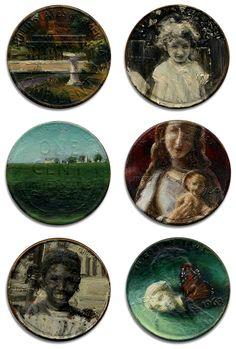 painted pennies / jacqueline lou skaggs