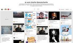 Suivez et participez au tableau Pinterest: Je suis charlie. Déjà plus de 700 pins et 150000 abonnés! Merci @yseultdel de l'avoir créé ;) à faire suivre et au plaisir de vous y croiser #jesuischarlie #charlieHebdo