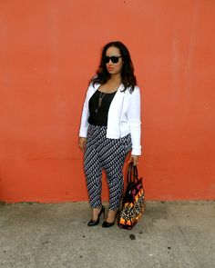 TRIBAL PARTY IN MY PANTS So I love the Duro Olowu... | beauticurve