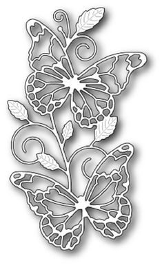 Memory Box Die - Waltzing Butterflies - Available at The Rubber Buggy Paper Quilling Jewelry, Paper Quilling Designs, Quilling Ideas, Quilling Cards, Memories Box, Butterfly Frame, Butterfly Crafts, Boxed Christmas Cards, Handmade Christmas