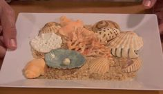 How to Make Coral, Seashells and Sea Urchins - Tutorial - Cake Central