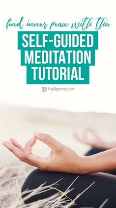 We can often get caught up in negative thoughts and emotions. If you're craving some inner peace, this self-guided meditation tutorial is for you!