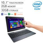 ASUS T100TAR Transformer Book 2-in-1 Touchscreen Laptop | Intel Quad Core | Home and Student 2013