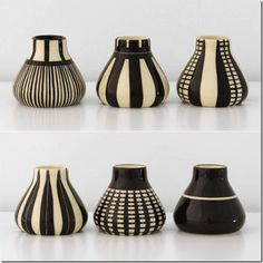 Ceramic vases vessel clay art black and white pottery art by Hedwig Bollhagen click now for info. Pottery Painting, Pottery Vase, Ceramic Pottery, Vase Centerpieces, Vases Decor, Wall Vases, Centerpiece Ideas, Eucalyptus Centerpiece, Ceramic Clay