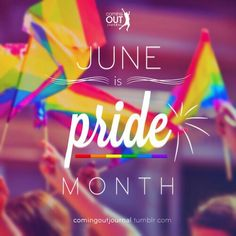 HAPPY PRIDE MONTH TO ALL!! ~Amber Blair