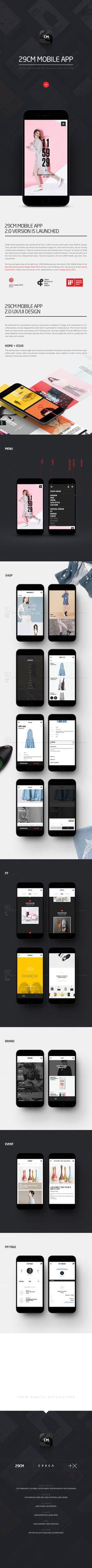 29CM Mobile E-Commerce Fashion App UI Design /// Designed by PlusX  /// PlusX Website_ http://www.plus-ex.com/ Brand Xperience Designer Blog_http://www.shind.me/