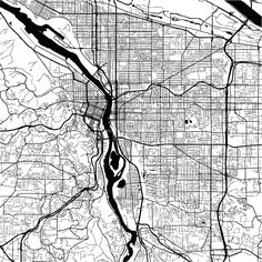 Download from $0.99, Vancouver Canada, Monochrome Map Artprint, Vector Outline Version, ready for color change, Separated On White...,  #administrative #area #atlas #border #canada #capital #cartography #city #detail #downtown #geography #graphic #harbor #highways #illustration #image #interstate #macro #map #monochrome #neighborhoods #outline #roads #sign #states #streets #symbol #tourism #travel #trip #united #vacation #Vancouver #vector #view #visit #white