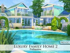 Pralinesims' Luxury Family Home 2