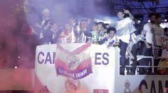 Real Madrid celebrating la Décima in Cibeles   Champions League Final 2014