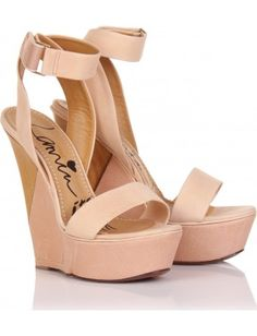 Get the must-have wedges of this season! These Lanvin Nude Puzzle Ankle Strap Platform Sandal Wedges Size US Regular (M, B) are a top 10 member favorite on Tradesy. Lanvin, Platform Wedge Sandals, Wedge Shoes, Heeled Sandals, Platform Shoes, Shoes Sandals, Wedge High Heels, Nude Sandals, Cute Shoes
