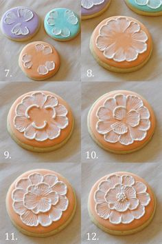 These beautiful spring brush embroidery cookies are easy to make using this step-by-step tutorial.