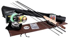 Goture Fly Fishing Rod and Reel Combos Fit Saltwater Freshwater 5/6 and 7/8 for Beginner and angler with Fly Line Fly Lures Full Kit with Rod Case(Honor Series5/6)