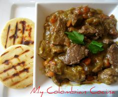 Meat Casserole - Cazuela de Carne - My Colombian Cocina Latin American Food, Latin Food, Colombian Dishes, Colombian Recipes, Columbia Food, Crockpot Recipes, Cooking Recipes, Hispanic Kitchen, Comida Latina