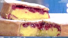La ricetta della torta pasticciotto crema pasticcera e amarene di Sal De Riso a La prova del cuoco 16 febbraio 2018 (foto)