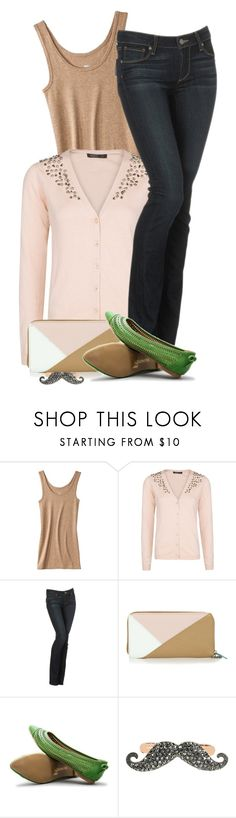 """""""Comfortable, Cute, & Casual"""" by stylesdice ❤ liked on Polyvore featuring Mossimo, MANGO, Paige Denim, Friis & Company, Restricted and Betsey Johnson"""