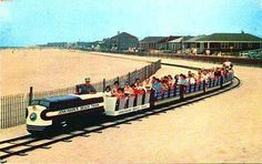 There was once a little railway in Point Pleasant Beach, New Jersey, called the Beach Train. The two-foot gauge track was laid in the sand,. Jersey Girl, New Jersey, Nj Shore, Nj Beaches, Point Pleasant Beach, Seaside Heights, Beach Boardwalk, Asbury Park, Staten Island