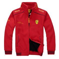 F1 Driver Explosion Models Men's Jacket Thick Velvet Cardigan Coat Autumn and Winter Men's Sports Jacket|eb3bb503-79ef-4fbd-8bb9-eb06905753e1|Vests & Waistcoats