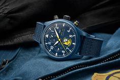 IWC U.S. Navy Squadron Pilot's Watches Best Coffee Roasters, Iwc Pilot, Watch Doctor, Watch Blog, Rolex Gmt Master, New Rolex, Sapphire Bracelet, Us Navy, Marine Corps