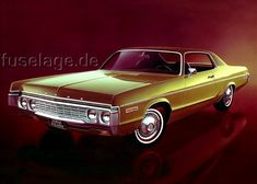 1972 Dodge Polara Custom Two Door Hardtop