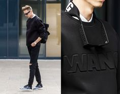how to style black jeans mens - Google Search