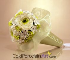 Ranunculus Bridesmaid Bouquet by ColdPorcelainArt
