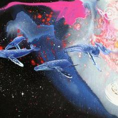 Universal Waters Zine, Altered Art, Manga Anime, Fan Art, Watercolor, Abstract, Canvas, Artist, Art