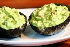 Food and stuff Guacamole - Dip von Nadisha Avocado Dessert, Tostadas, Avocado Toast, Avocado Guacamole, Greek Diet, Snacks Für Party, Greek Recipes, Mexican Recipes, Food Items