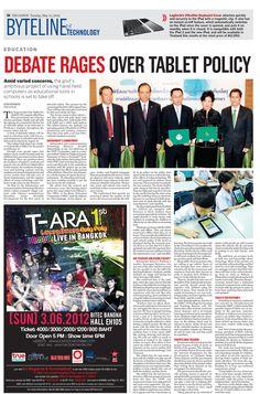 Byteline and Technology, May 15, 2012