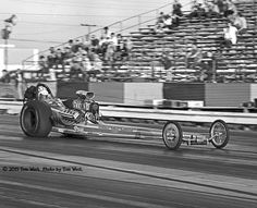 Cerny Lins Moody - Don Moody in the seat @ Irwindale