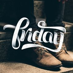 Friday by John Michael Vilorio  - I Love Ligatures