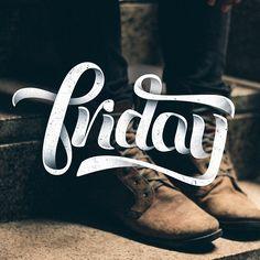Friday by John Michael Vilorio  - I Love Ligatures