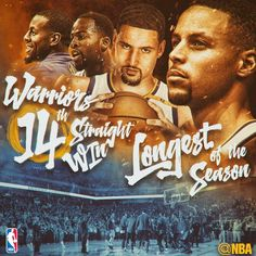 With tonight's win, the now own the longest win streak in the NBA this season with 14 straight wins! Basketball Season, Basketball Coach, Love And Basketball, Basketball Players, Basketball Stuff, 2018 Nba Champions, Coaches Wife, Warriors Stephen Curry, Basketball Motivation