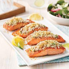 Salmon Recipes, Fish Recipes, Bruschetta, Salmon Burgers, Tapas, Meal Planning, Sushi, Seafood, Bbq