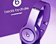 New! Metallic Purple Skins for Solo / Solo Hd Beats By Dr. Dre - (Headsets Not…