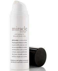 philosophy miracle worker anti-aging moisturizer for acne-prone skin ...