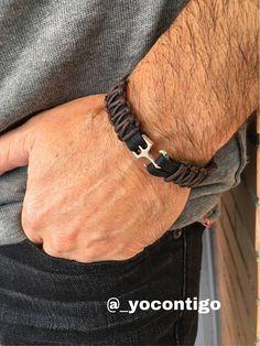 Man leather bracelet Zamak Spanish Jewelry boho man #men'sjewelry
