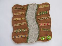 Wool Felt Garden Playscape Play Mat for Pretend Imaginative Play Children by MyBigWorld2015 on Etsy new price free shipping this week