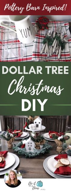 DOLLAR TREE Christmas DIYS that look super expensive! DOLLAR TREE Christmas DIYS that look super expensive! It's a new video for Christmas 2019 using Dollar Tree products! These are a few hosting ideas from a tablescape to a coffee bar. Dollar Tree Christmas, Christmas On A Budget, Christmas 2019, Christmas Holidays, Christmas Store, Country Christmas, Merry Christmas, Dollar Tree Finds, Dollar Tree Decor
