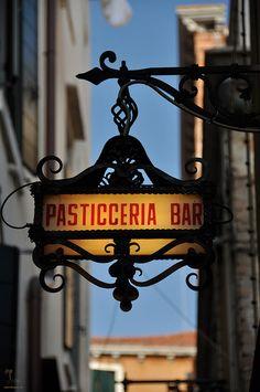 Pasticceria (bakery) Venice, Italy