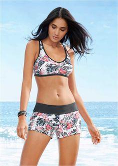 Women Printing Bandage Bikini Set Push-Up Beachwear Two Piece Bikini, Bikini Set, Bustier Bikini, Bustiers, Brazilian Swimwear, Swimsuits For Curves, Sporty Look, Plus Size Swimwear, Monokini