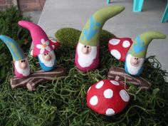 PAPER CLAY GNOMES