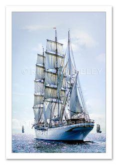 "Sailing Ship ""Statsraad Lehmkuhl"""