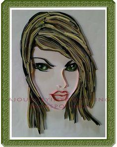 Graphic Art Portraits   artdesigntemplates.com